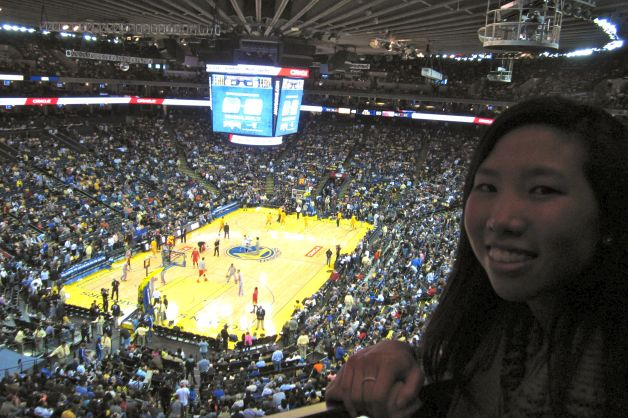 My First Basketball Game